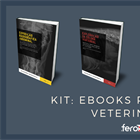 Kit com 4 eBooks de radiologia veterinária